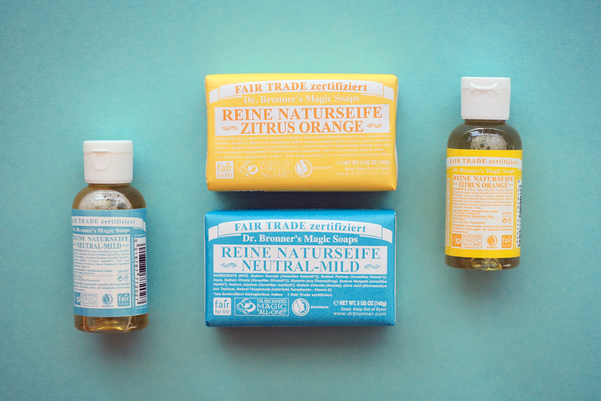 dr. bronners magic soap